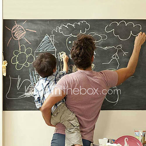 Shapes Wall Stickers Blackboard Wall Stickers Decorative Wall Stickers Vinyl Home Decoration Wall Decal Wall Decoration