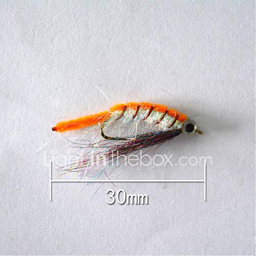 "1pcs Hard Bait Orange 5 g/1/6 oz. Ounce30 mm/1"" inchSoft Plastic Bait Casting"