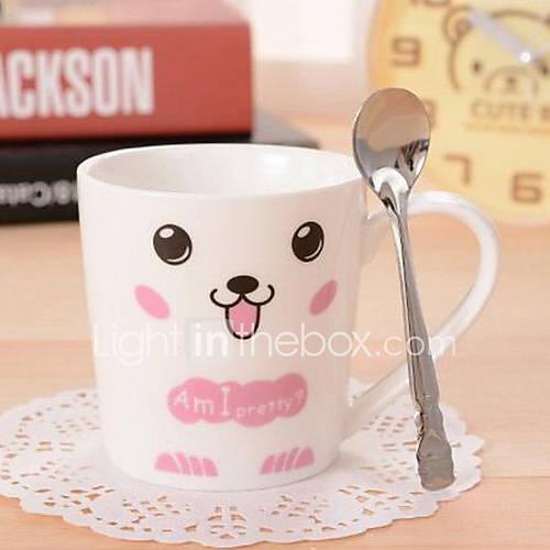 Ceramic Cup Set Couples Milk Coffee Cup