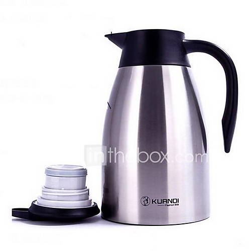 Quality Stainless Steel Insulation Coffee Pot for Home(1500ml)
