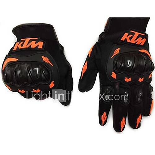 Motorcycle Racing Gloves Men'S Environmental Non-Toxic Odorless Water Resistant Non-Slip Drop Resistance