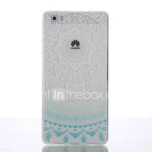 Back Cover Ultra-thin Mandala TPU Soft Case Cover For Huawei Huawei P8 / Huawei P8 Lite