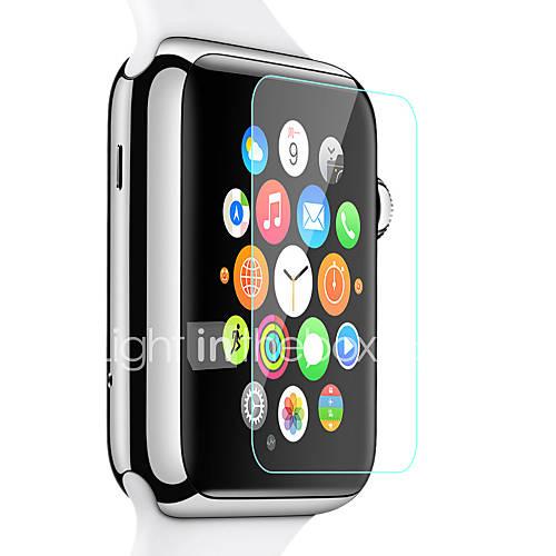 alta definición protector de la pantalla de cristal templado de 38 mm reloj de manzana Miniinthebox por 1.95€
