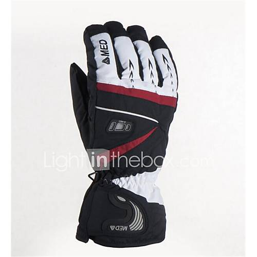Skiing Mountain Climbing Motorcycle Riding Gloves Outdoor To Resist The Cold Keep Warm A Pair