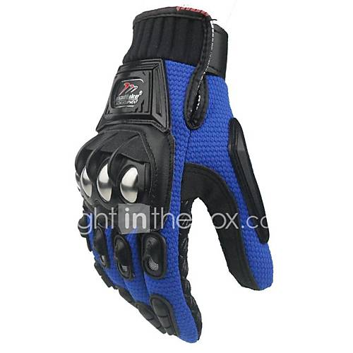 Motorcycle Gloves Alloy Shell Racing Bike Riding Gloves