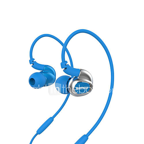 REMAX RM-S1 Headphone Sports Music Earphone High Sound Quality Stereo In-Ear Headset with Mic Retail Package