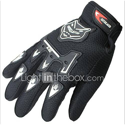 Full Finger Unisex Motorcycle Gloves Cloth Breathable / Protective / Non-slip