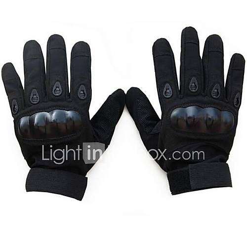 Riding Full Finger Gloves Nontoxic Odorless Water Resistant Breathable Slip Drop Resistance