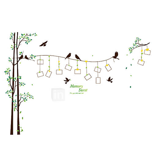 Botanical Wall Stickers Plane Wall Stickers Decorative Wall Stickers Vinyl Home Decoration Wall Decal Wall Decoration