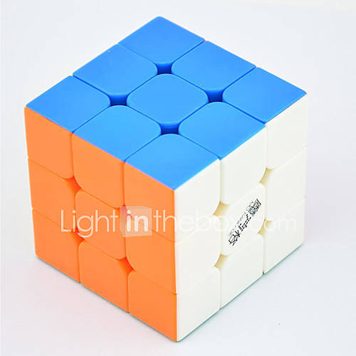 Rubik's Cube QI YI LEISHENG 120 333 Smooth Speed Cube Magic Cube Puzzle Cube Professional Level / Speed / Competition Gift Classic  Timeless Girls'