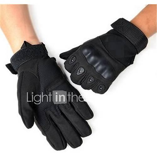 Outdoor Motorcycle Full Finger Gloves Prevent Slippery
