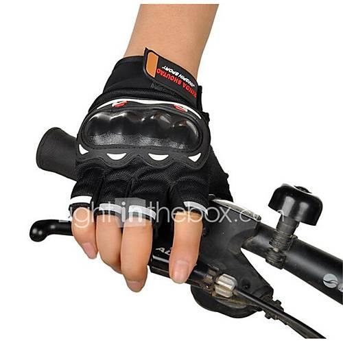 Motorcycle Racing Gloves Semi Finger Cross Country Summer Riding Motorcycle Semi Finger Rider Gloves