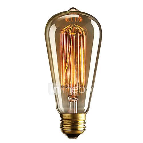 Filamento bombilla retro vintage industrial incandescente 36-40w