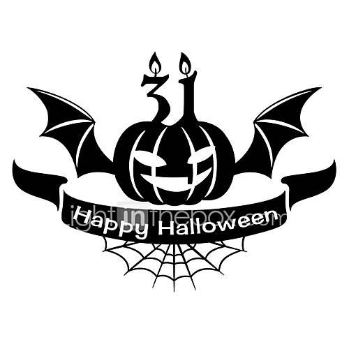 Halloween Stickers/ Decals Halloween Pumpkin Wall Stickers For Home Decor
