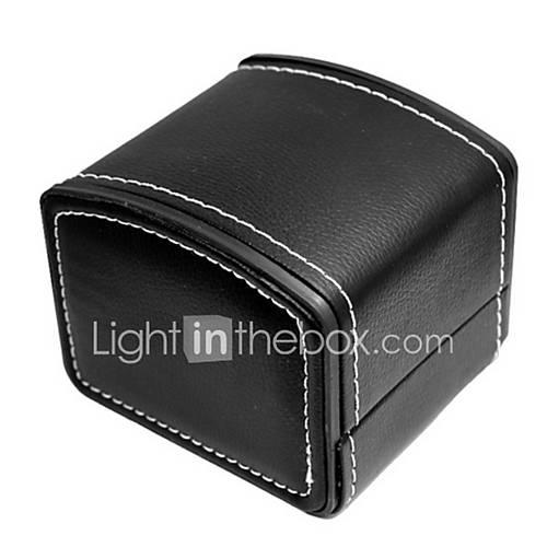 las mujeres / de los hombres de la PU reloj de cuero caja de joyería al Accesorios10  8 cm) Descuento en Miniinthebox