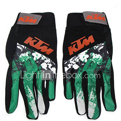 Spring And Autumn Outdoor Full Finger Riding Gloves Motorcycle Bicycle Racing Bicycle Riding Gloves