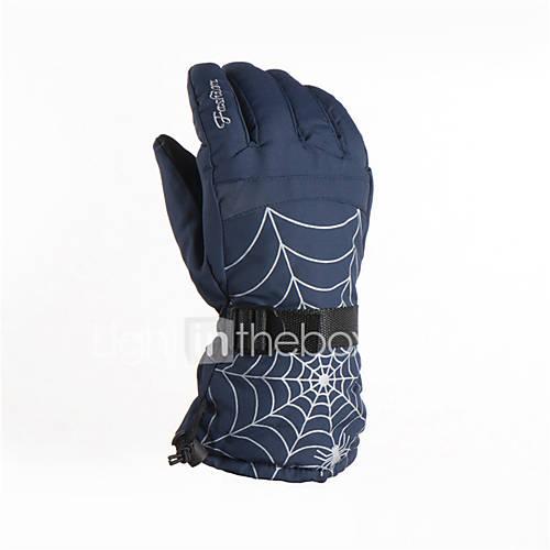 Ski Gloves Winter Gloves Men's Activity/ Sports Gloves Keep Warm / Waterproof / Breathable / Fleece Lining / Moisture Permeability Gloves