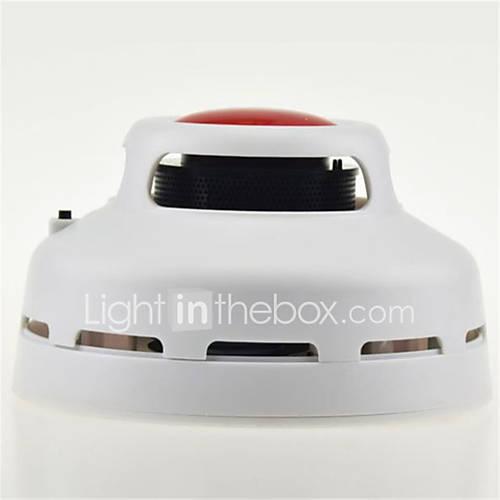 Smoke Detector with Double Red Dome Light Alarm Mode And Highly Sensitive Smoke Sensor