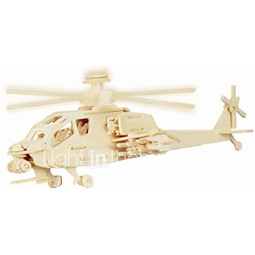 Jigsaw Puzzles Wooden Puzzles Building Blocks DIY Toys Square / Aircraft 1 Wood Ivory Puzzle Toy