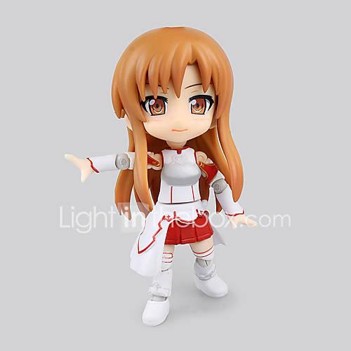Sword Art Online Asuna Yuuki PVC 16cm Anime Action Figures Model Toys Doll Toy
