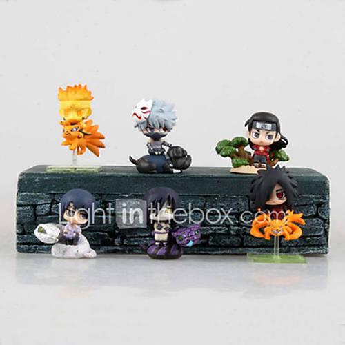 Cosplay Hokage PVC 6cm Anime Action Figures Model Toys Doll Toy Daiyoji Ninkai Taisen