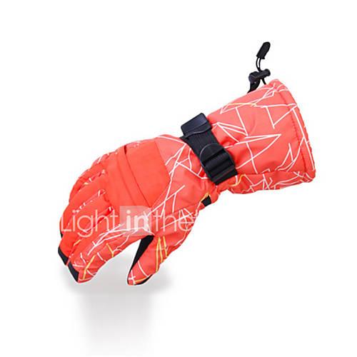 Ski Gloves Full-finger Gloves / Winter Gloves Women's / Men's Activity/ Sports Gloves Keep Warm / Waterproof / Fleece LiningSki