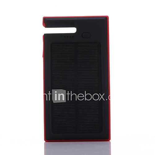 SUNWALK 12000mAh Portable Solar Charger Power Bank Dual USB Solar Charger Backup External Battery for Mobile Phone