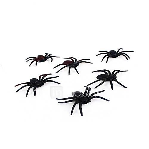 (Color random)1PC Halloween Haunted House Decoration Bar KTV Prop Scene Layout Spider Silk And Spider Web