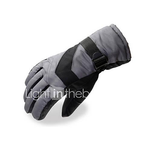 Ski Gloves Full-finger Gloves / Winter Gloves Women's / Men's Activity/ Sports Gloves Keep Warm / Windproof / Fleece LiningSki