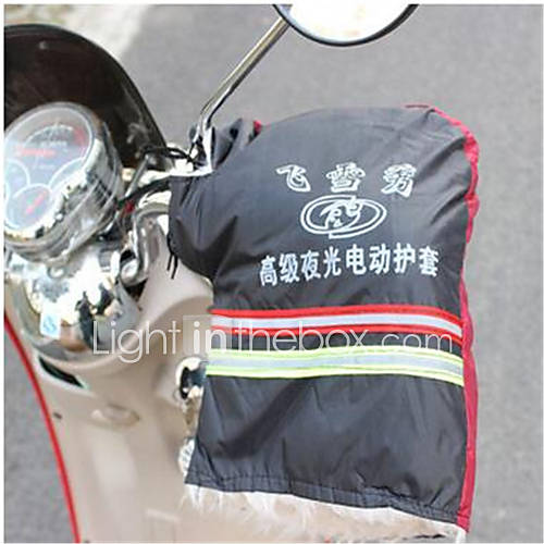 Electric Car Warm Gloves Motorcycle Weatherproof Cold Thickening Gloves