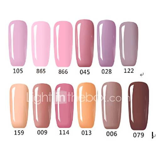 The Best Selling Uv Color Gel UVLED Lamp Nail Gel Polish Nude Color  Neutral Color Long Lasting Lacquerl