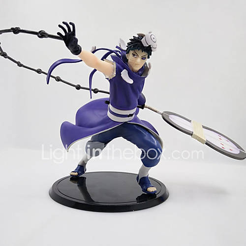 Naruto Uchiha Obito PVC 22cm Anime Action Figures Model Toys Doll Toy Uchiha Obito