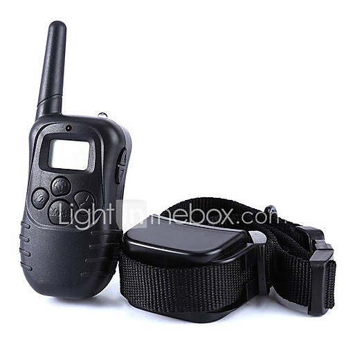 Dog Bark Collar / Dog Training Collars Anti Bark Waterproof 300M Remote Control Shock/Vibration for 2 Dogs 3204