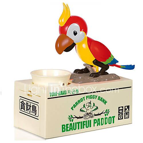 Coin Bank / Money Bank Stealing Coin Bank Saving Money Box Case Piggy Bank TORI-BAKO Coin Bank / Money Bank Toys Container Electric Bird