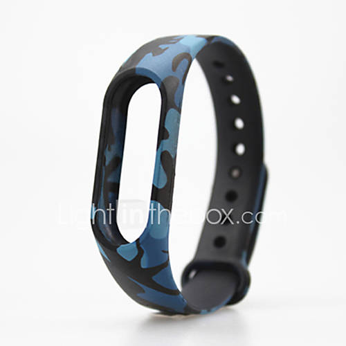 camouflage Pattern TPU Watch Band ...