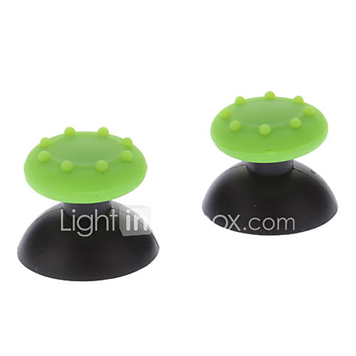 Replacement 3D Rocker Joystick Cap Shell Mushroom Caps for Ps3 Wireless Controller  Antislip Rubber