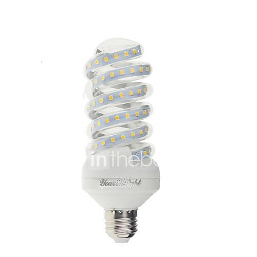 YouOKLight 1PCS E27 20W 1800lm  Warm White/White Light 47SMD 2835 LED Corn Lamps (AC 220V)