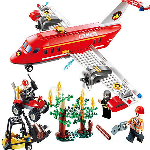 Action Figures  Stuffed Animals Building Blocks Educational Toy Toys Aircraft Forklift Boys' Girls' Pieces