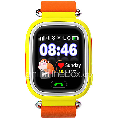 Kids' Sport Watch Smart Watch Fashion Watch Wrist watch Strap Watch LED Touch Screen Remote Control Thermometer Calendar Water Resistant / Water Proof
