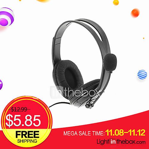 usb auriculares auriculares con micrófono universal para ps3 y pc Descuento en Miniinthebox