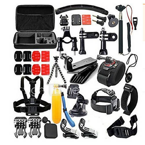 Accessories For GoProAnti-Fog Insert Protective Case Monopod Tripod Case/Bags Screw Buoy Suction Cup Straps Clip Hand Grips/Finger