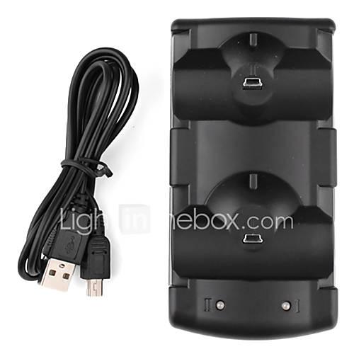 Mini Dock dual de carga para ps3 Miniinthebox por 5.87€