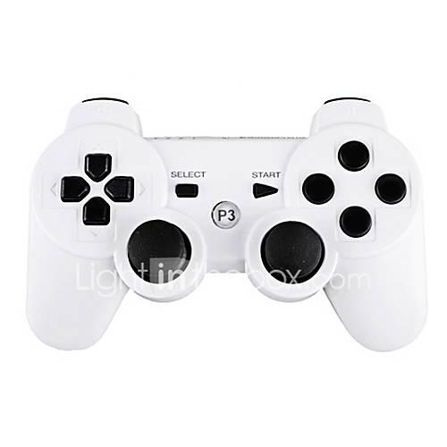 Mando DualShock 3 Wireless para PlayStation 3 (Blanco) Descuento en Miniinthebox