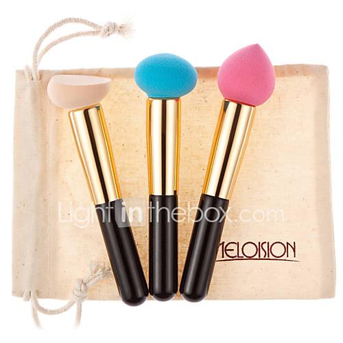 Powder Puff/Beauty Blender 3 China Normal Blue / Peach / Nude