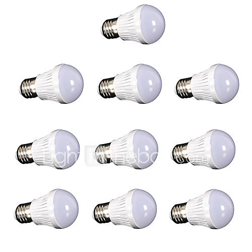 10pcs 3W E27 led lamp bulb AC220V 110V SMD2835 Globe Light Bulbs Ball Lamp Spotlight White/Warm white LED spotlight lamp for home