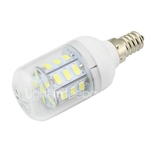 E14 Silica Gel 5W 64LED 3014 SMD Warm Pure White Light Bulb Lamp AC85-265V 240LM