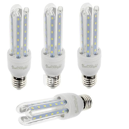 YouOKLight E27 7W 600lm Warm White/White Light  36 SMD 2835 LED Corn Lamps (AC 85-265V)