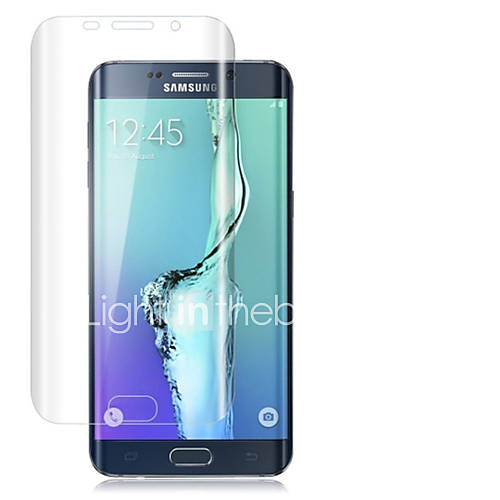 LNKOO 9H Thinest Full Cover Curved Protection Tempered Glass for Samsung Galaxy S6Edge Plus