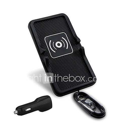 Mindzo Universal 5V2A Car Wireless Charger Vehicle Mounts Holder  Qi Standard for Qi Smartphone