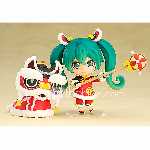 Hatsune Miku Miku PVC 10cm Anime Action Figures Model Toys Doll Toy 1pc